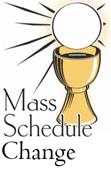 Afbeeldingsresultaat voor Change in Mass schedule
